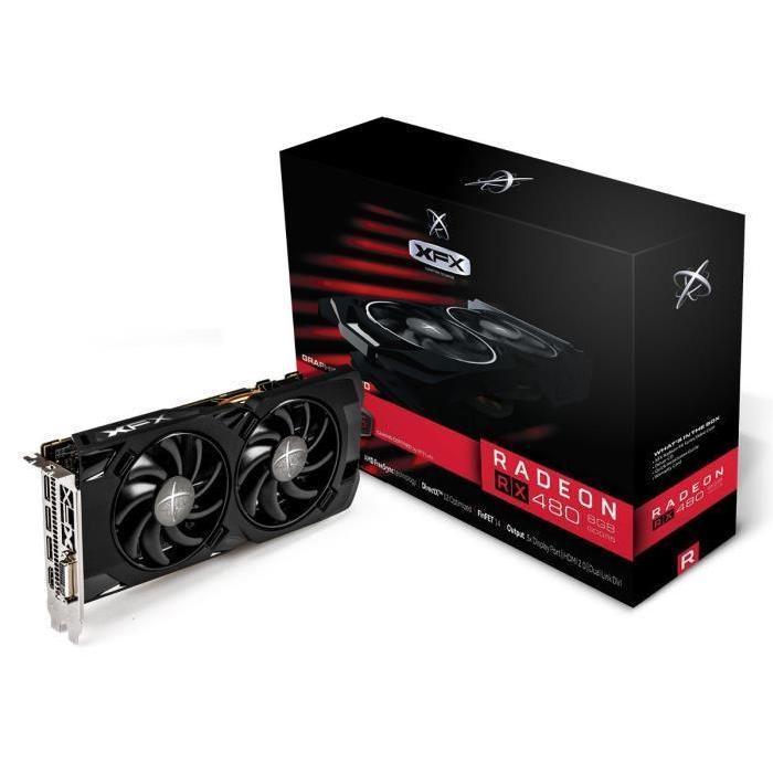 [Cdiscount à volonté] Carte graphique XFX Radeon RX 480 Triple X RS - 8 Go + Doom offert