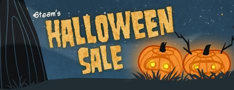 soldes d'Halloween jusqu'à -85%