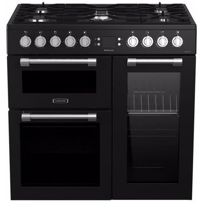 piano de cuisson leisure ck90f320kg 5 foyers gaz 3 fours. Black Bedroom Furniture Sets. Home Design Ideas