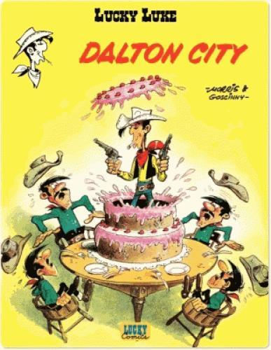 BD numérique Lucky Luke (ebook) - Tome 3 Dalton city gratuite (au lieu de 5.99€)