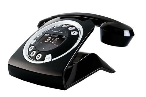 Téléphone Fixe sans fil Sagemcom Sixty modèle noir (avec ODR 30€)