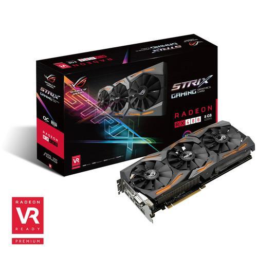 Asus Radeon RX 480 ROG STRIX OC - 8 Go