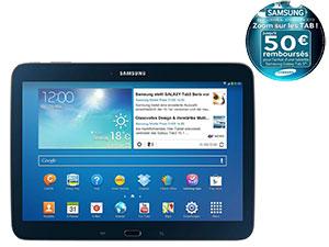 """Samsung Galaxy Tab 3 10"""" 16 Go (après ODR 50€)"""
