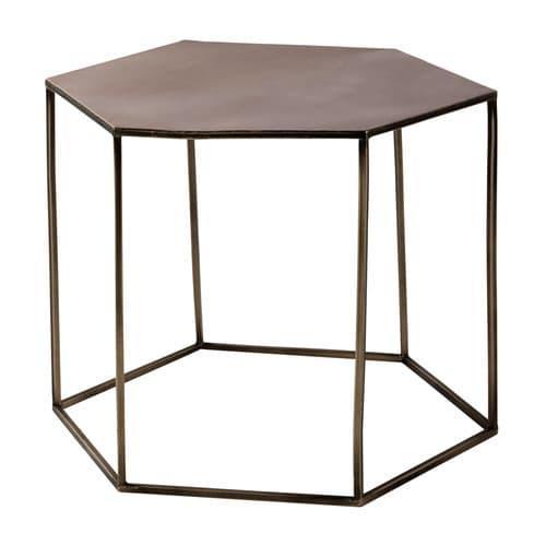 Jusqu'à 50% de réduction sur une sélection d'articles - Ex : Table basse en métal cuivré