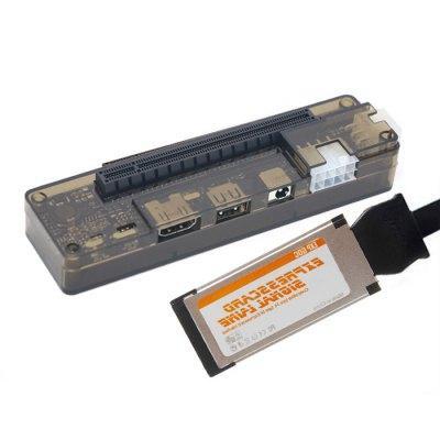 Adaptateur carte graphique sur pc portable eGPU EXP GDC Beast V8 ExpressCard