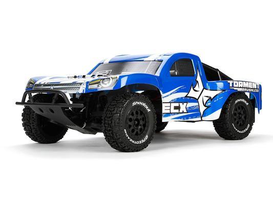 Voiture radiocommandée Truck ECX Torment Brushless 2WD Short Course 1:10 RTR - Tout inclus