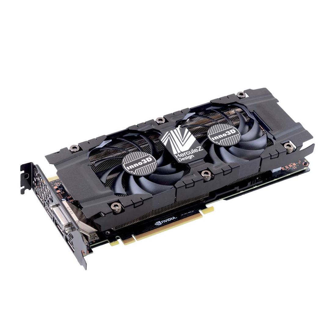 Sélection de cartes graphiques Inno3D en promotion - Ex : Inno3D GeForce GTX 1080 Ti TWIN X2 + For Honor ou Ghost Recon