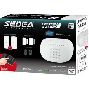 Système d'alarme RTC sans fil Sedea S9