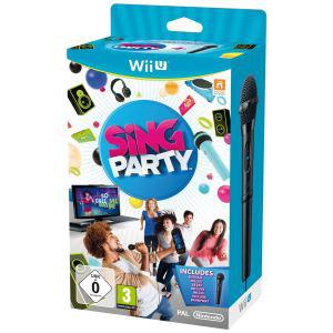 Sing Party + Microphone sur Wii U