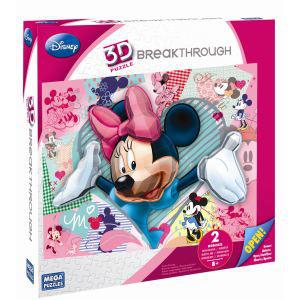 Puzzle 3D Breakthrough - Disney Minnie