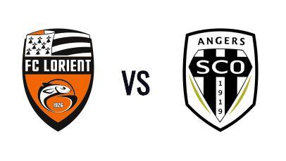 Ticket d'entrée pour le match de Foot  FC Lorient/ Angers SCO