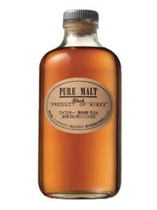 Bouteille de Whisky Nikka Black Pure Malt - 50cl