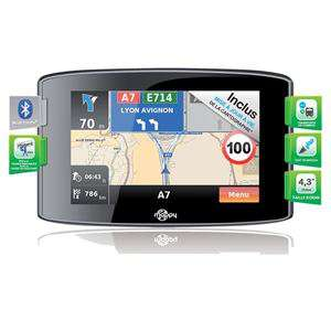 GPS Mappy Iti S436 LM - écran 4,3'' tactile - Europe (14 pays)