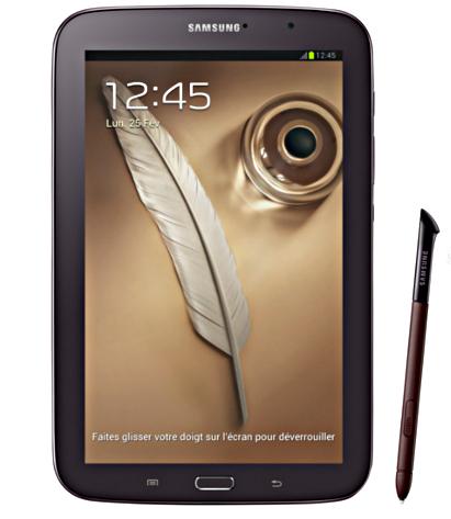"""Samsung Galaxy Note 8"""" WiFi 16 Go (Avec ODR de 50€)"""
