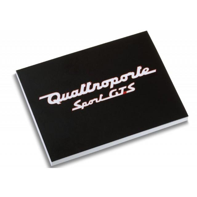 Post-it Quattroporte Sport GTS Maserati (pour se la peter au bureau ;-) ) / livraison gratuite