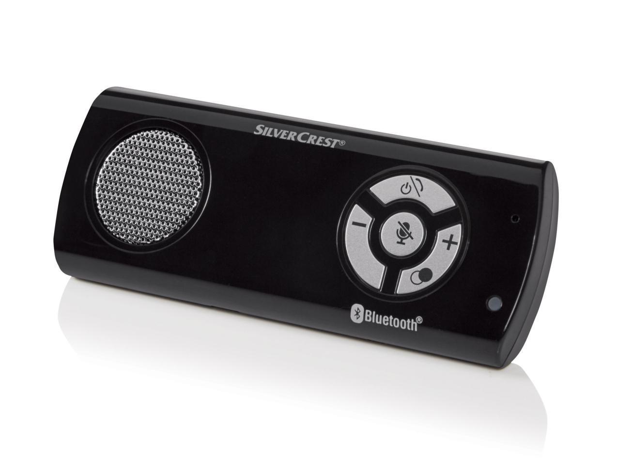 Kit mains libres Bluetooth SilverCrest
