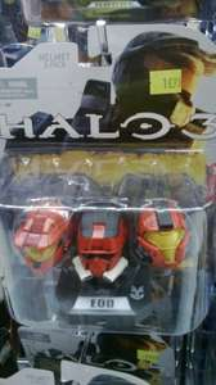 3 Casques Figurine Halo 3 McFarlane Toys