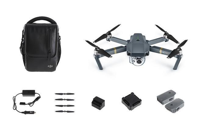 DJI Mavic Pro Combo Drone (+ Jusqu'à 191.99€ offert en Superpoints)