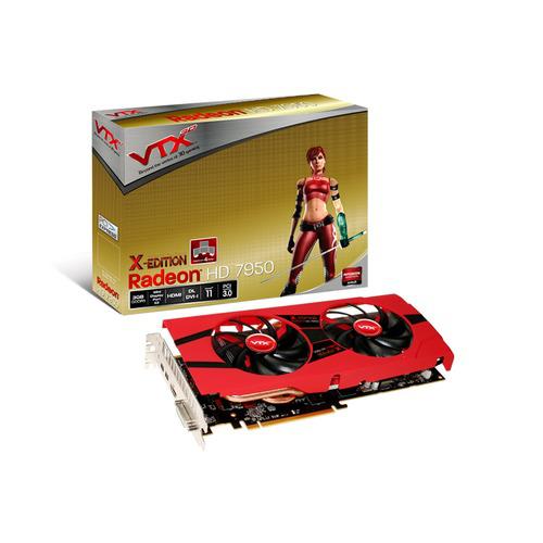 VTX3D Radeon HD 7950 OC X-Edition, 3 Go + jeux offerts
