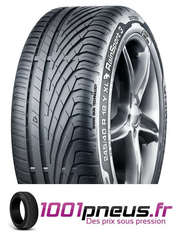 Jusqu'à 53% de réduction sur une sélection de pneus Uniroyal - Ex : Pneu Rainsport 3 245/45 R 19 102 Y - XL