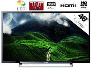 "Téléviseur LED 46"" Sony KDL46R470 Full HD (29,99€ de port)"