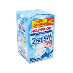 Lots de 2 paquet Chewing gum Hollywood 2 fresh Gratuit + 0.70c
