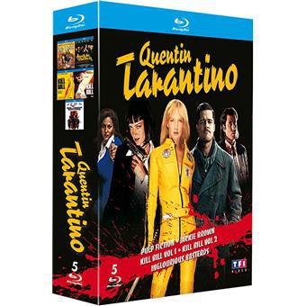 Coffret 5 films Quentin Tarantino [Blu-ray]