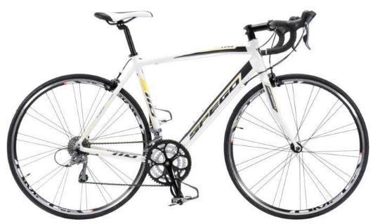 Vélo Spego 110 1.5 Blanc  - Tailles : 52, 56 ou 61cm (11.3 Kg)