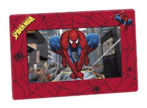 """Cadre Photo Numérique 7"""" Lexibook DF700SP Spiderman avec télécommande"""