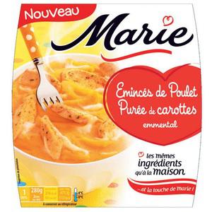 Plat cuisiné Marie