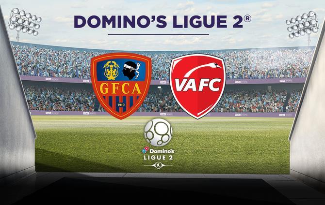 Dès 19h45 : Match de Football Gazélec FC Ajaccio - Valenciennes FC en direct vidéo