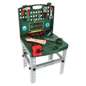 Etabli de bricolage pliable pour enfant Bosch + accessoires