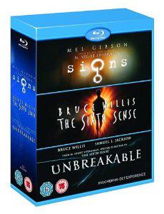 Coffret Blu-ray M. Night Shyamalan (Signes, Sixième Sens, Incassable)