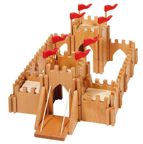 Jouet Château Fort Holztiger en bois / Port inclus