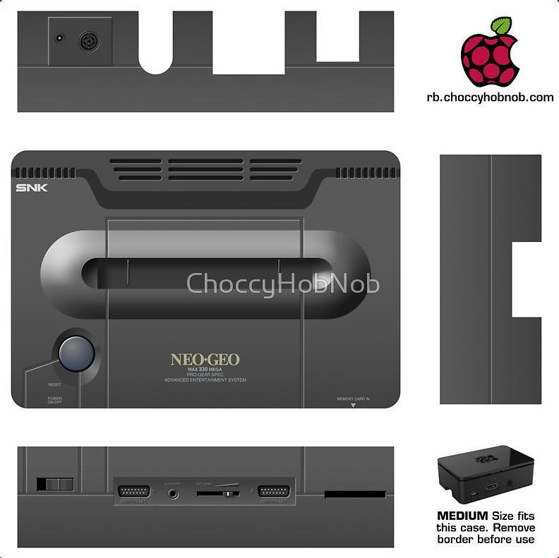 Stickers Retrogaming pour Raspberry Pi (fdp inclus)