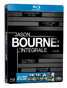 Jason Bourne - L'Intégrale - [Edition Limitée - Boitier Métal]