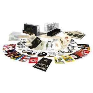 Coffret Blu-ray 14 Films Alfred Hitchcock - (Inclus les 14 cartes postales - le Livret de 16 pages - Les dessins et story-boards)