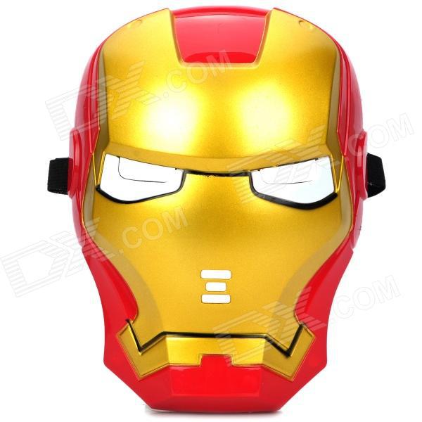Masque Iron Man avec les yeux qui s'allument en bleu