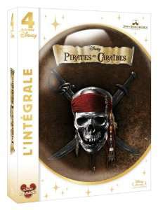 Pirates des Caraïbes - La quadrilogie bluray