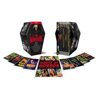 Coffret Universal Monsters - 8 Films - Blu-Ray - Edition Limitée et Numérotée