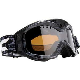 Camescope / Masque Ski Liquid Image 384 BLK - HD 720 p noir