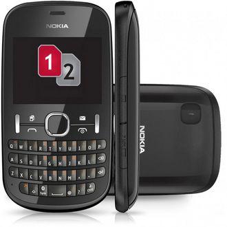 Smartphone Nokia Asha 200 - Dual sim - Graphite, blanc ou rose