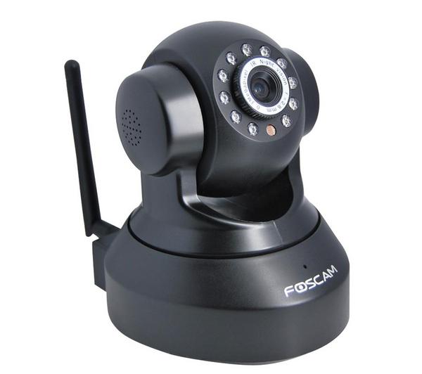 Caméra IP Wi-Fi Foscam jour/nuit FI8918W - noir