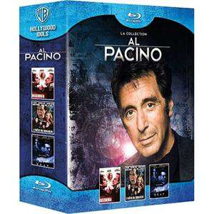 Coffret Blu-ray Al Pacino 3 films : Insomnia + L'enfer du dimanche + Heat