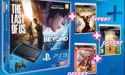 Pack PS3 500 Go + The Last of Us + Beyond + GOW IV + Uncharted 3 + Journey