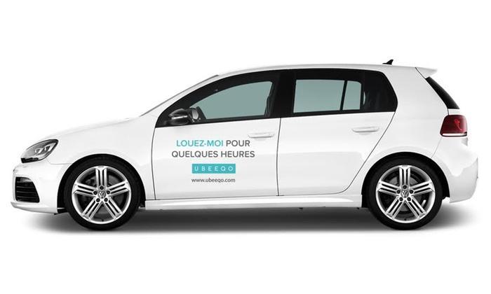 [Nouveaux clients] Location de voiture Ubeeqo à Paris (carburant + 50 km inclus) gratuite
