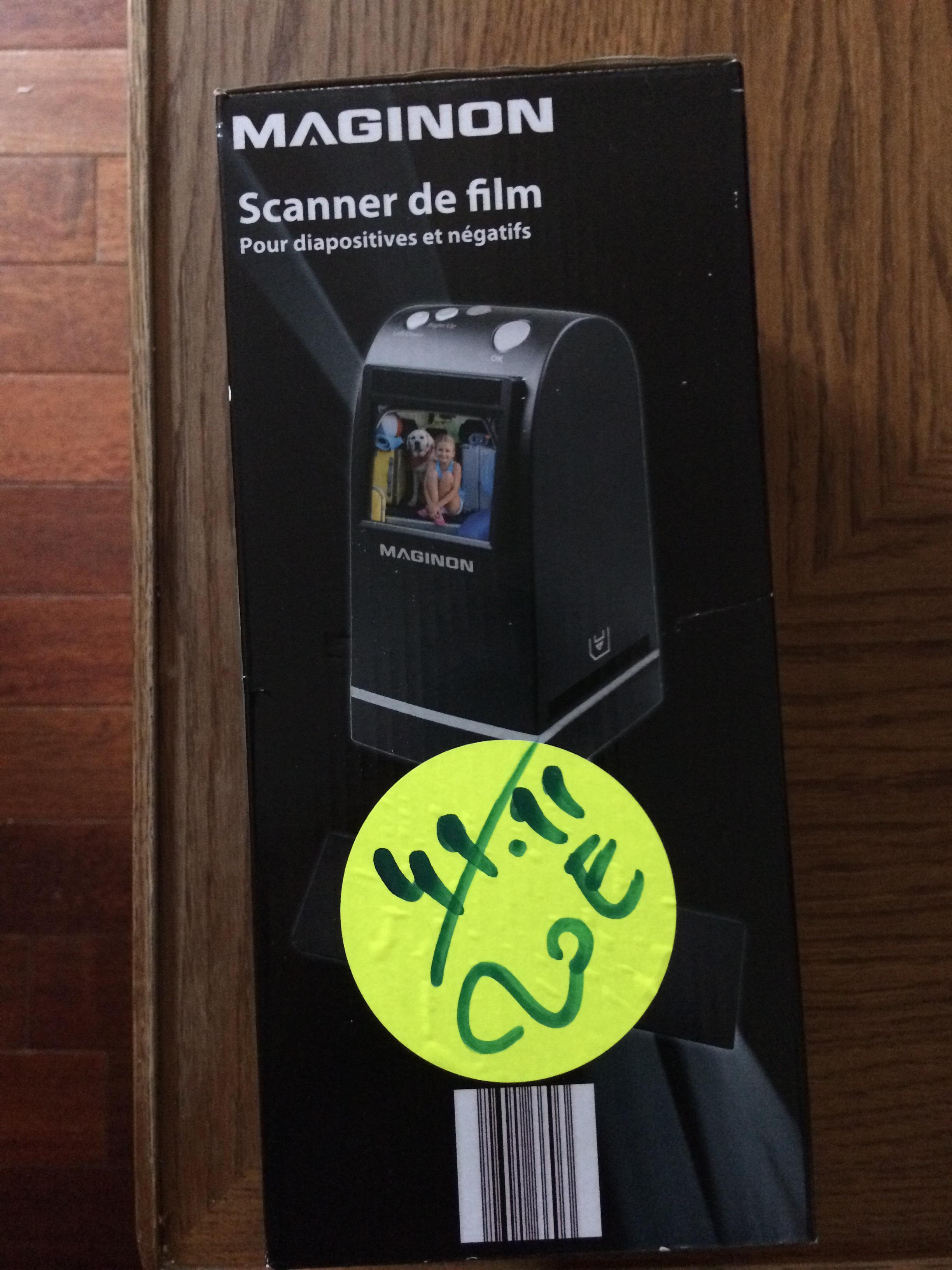 Scanner de film/négatif Maginon FS-1 FS1 M