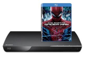 Lecteur Blu-ray BDP3902 + The Amazing Spiderman - Reconditionné