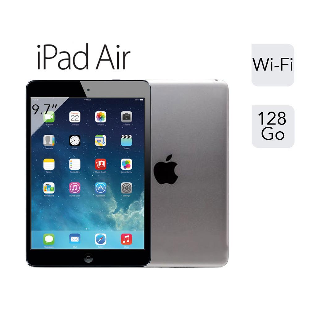 Apple iPad Air 128 Go Gris Sidéral