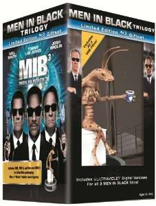 [Offre éclair] Coffret Collector Blu-ray Men in Black 1-3 / Port inclus